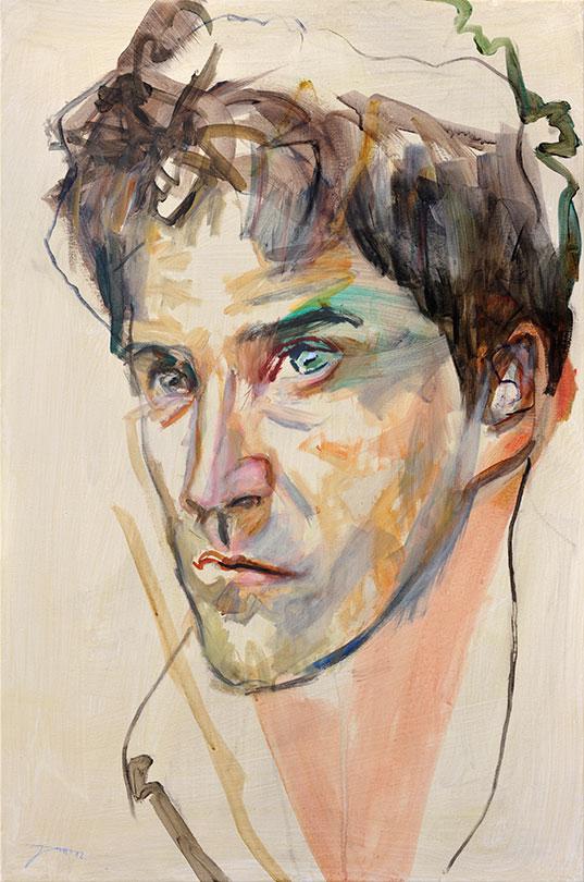 Selbstporträt Jan Beumelburg