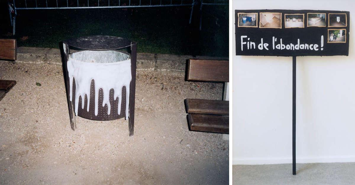 """Paris/Ivry-sur-Seine """"Bitte umdrehen"""" / """"Rettet die Baumpilze"""" (2003)"""